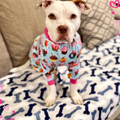 Anna in jammies